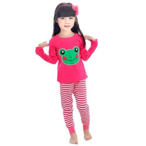 Unisex-Baby Frog Pajamas for Kids