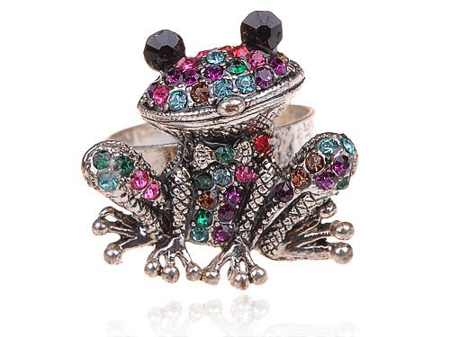 cutest frog rings