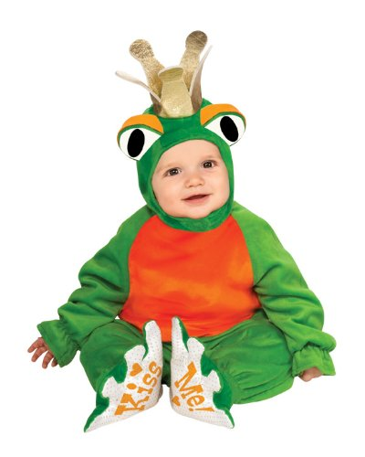 Cutest Prince Frog Costume for Toddlers