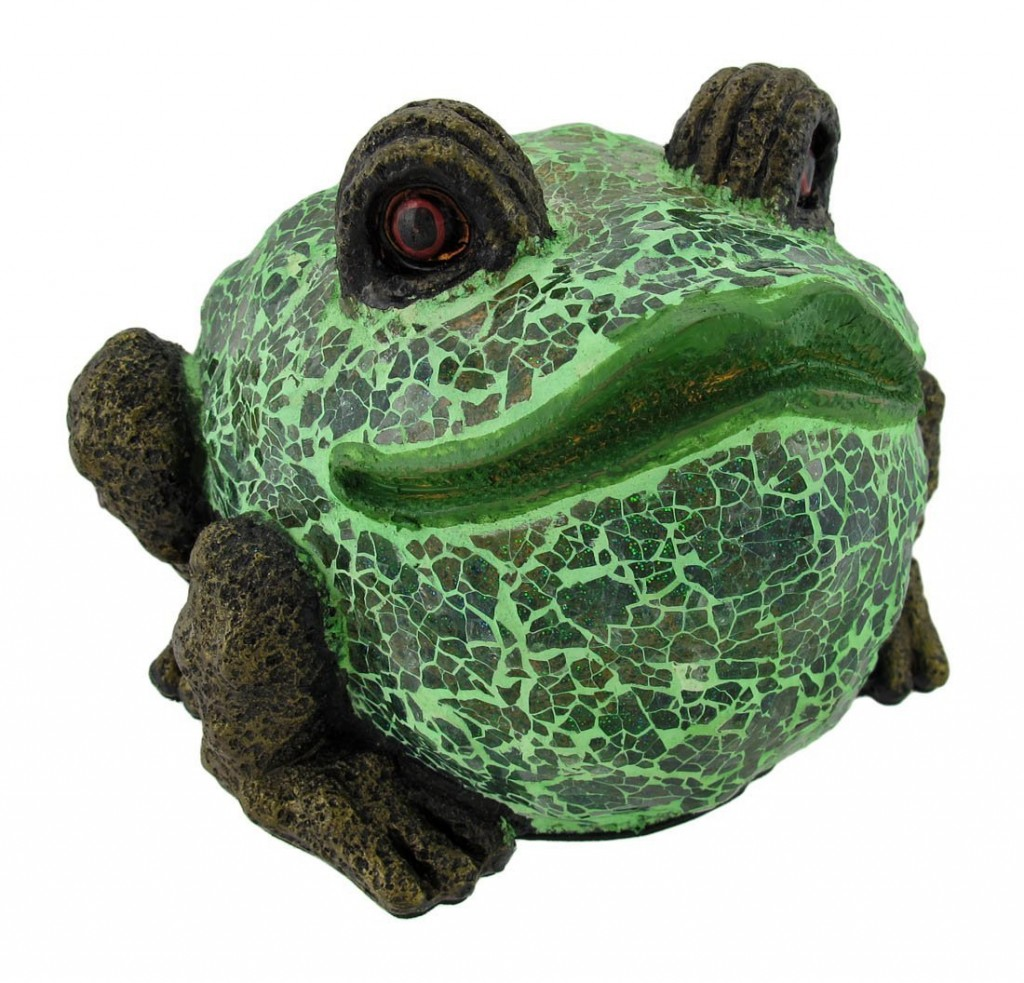 Funny Fat Frog lamp
