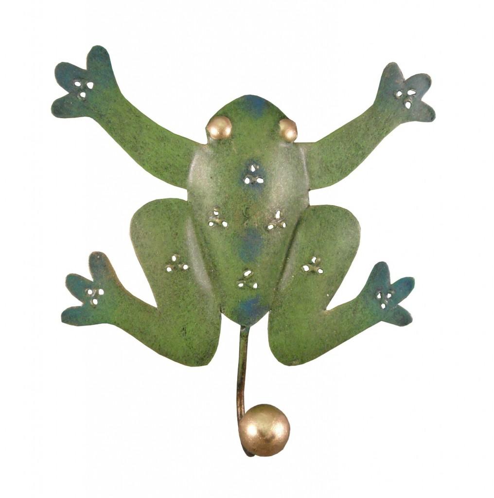 cutest frog bathroom decor!