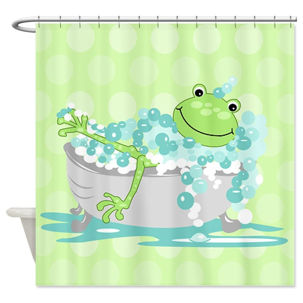 how to clean shower curtain in tub