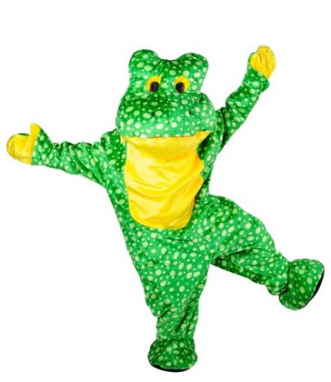 Frog Mascot Costume for Adults