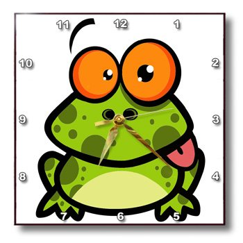 funny frog clocks for sale