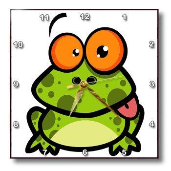 funny frog clocks for sale