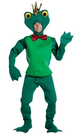 Funny Adult Frog Prince Costume
