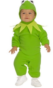 Cutest Kermit The Frog Toddler Costume