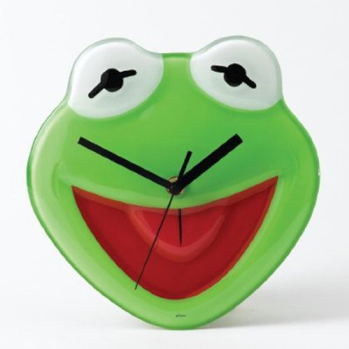 Cute Kermit The Frog Wall Clock