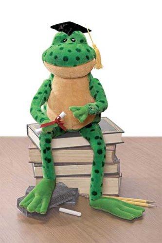 singing plush frog