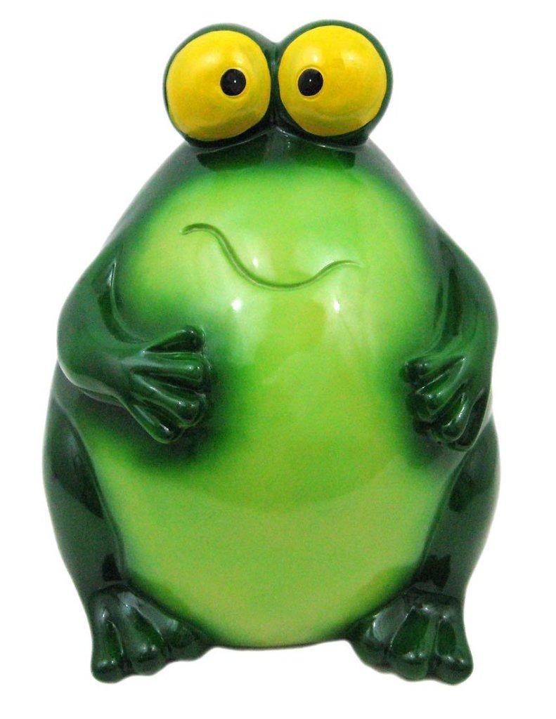 funny frog piggy banks