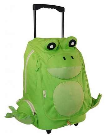 12 Cute Frog Backpacks for Kids!