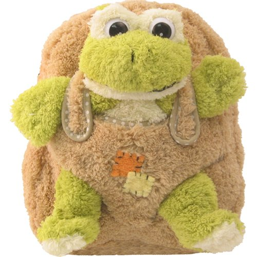 cute plush frog backpack for kids