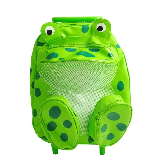 Pull-Along Animal Backpack, Frog