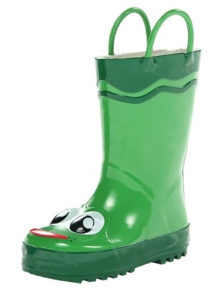 Cutest Frog Rain Boots for Kids