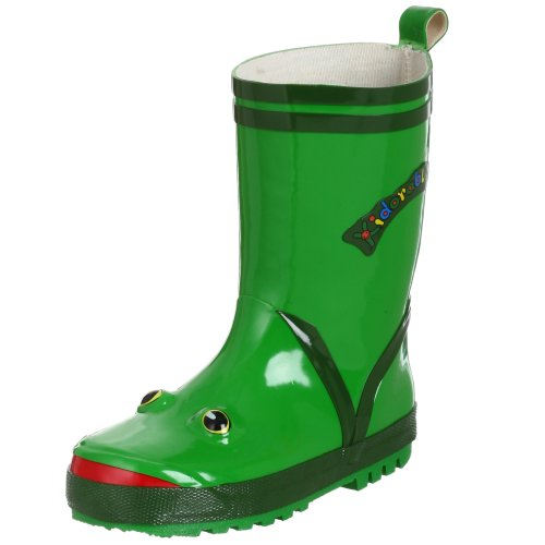 Cute Frog Rain Boots for Toddlers