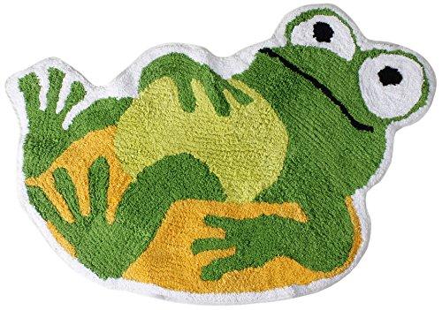 Fun Frog Shaped Rug