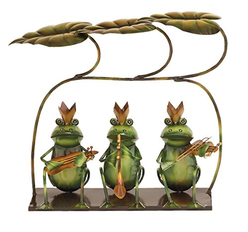 Frog Musicians Statue