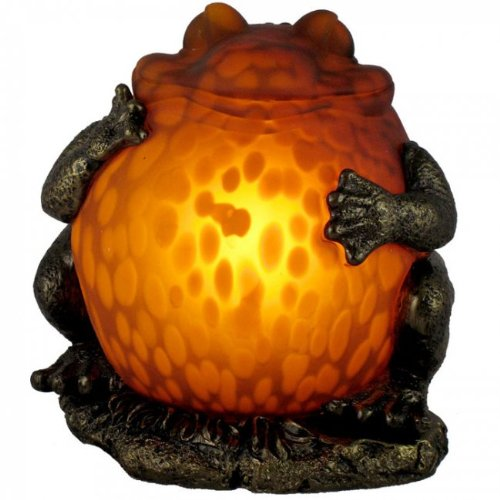 Fat Frog Shaped Accent Table Lamp