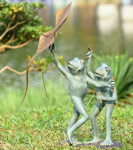 Cutest Outdoor Frog Sculptures