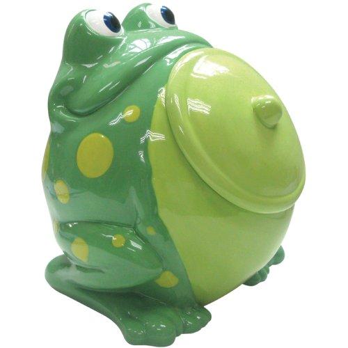 Cute Fat Frog Cookie Jar