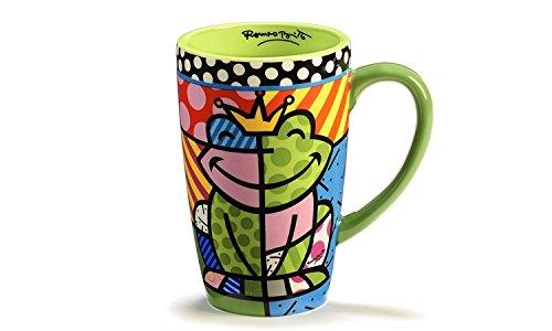 Romero Britto Frog Mug