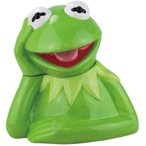 Kermit the Frog Ceramic Cookie Jar