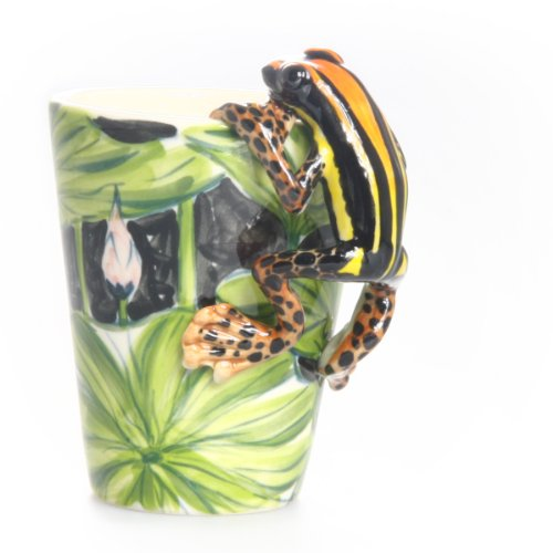 Amazing 3D Frog Ceramic Mug