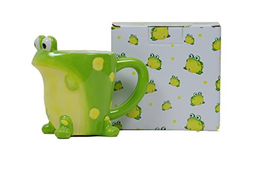 Adorable Frog Coffee Mug With Gift Box