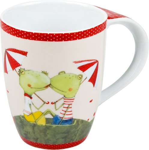 Cute Frog Couple Mugs