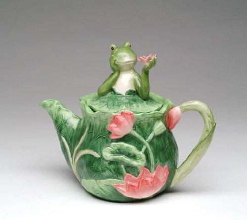 Decorative Frog Teapots