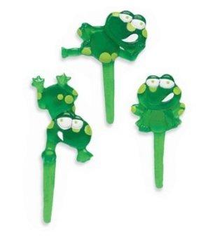 Puffy Frog Cupcake Picks