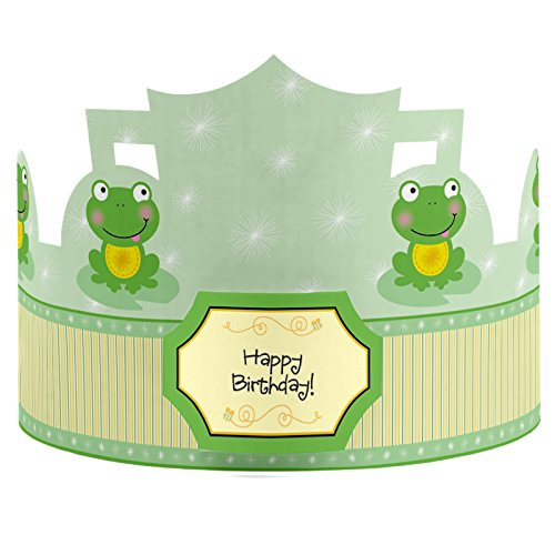 Frog Crown Birthday Party Hats
