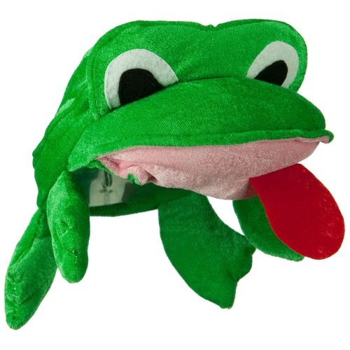 Cute Green Frog Hat
