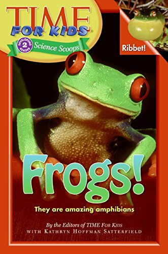 Cool book about frogs for kids ages 6 to 10 years old