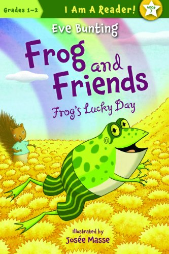 Fun frog book for first graders