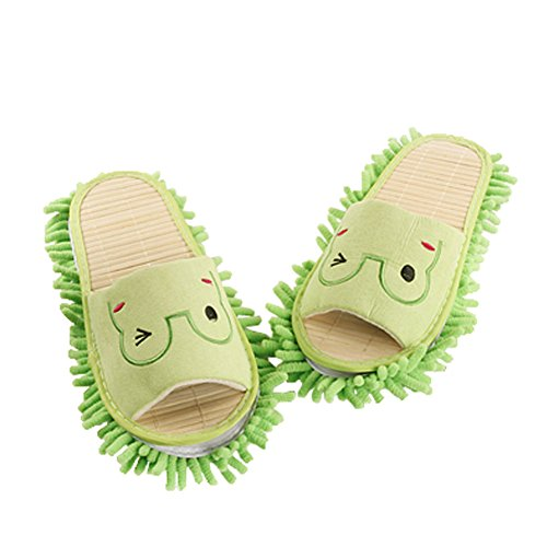Fun Frogs Magic Cleaning Slippers