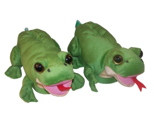 Comfy Realistic Frog Slippers