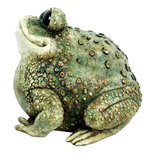 Croaker Frog Outdoor Statue