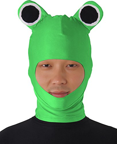 Hilarious Frog Hat Mask for Kids and Adults