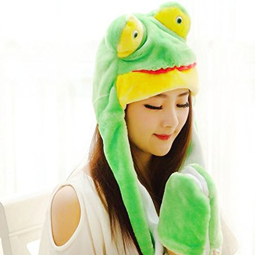 Fur Frog Winter Hat