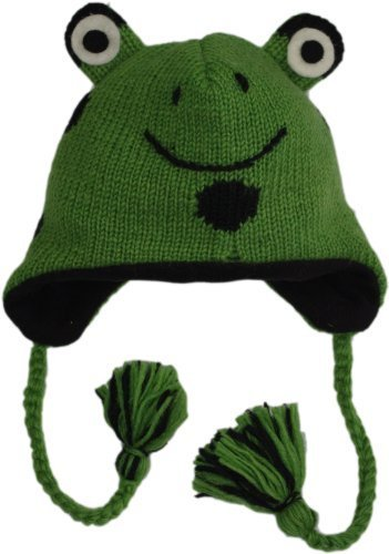 Adult Wool Frog Winter Hat