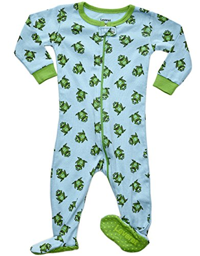 Green Frog Pajamas for Babies